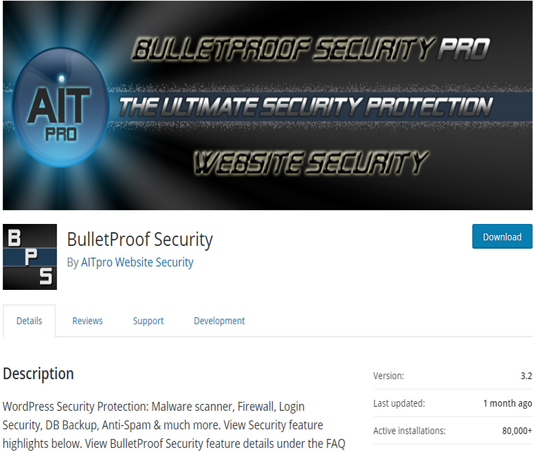 BulletProof Security