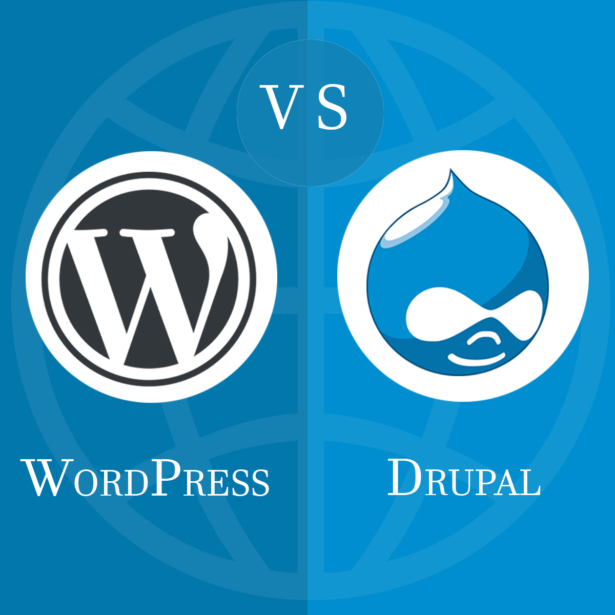 Differences between Drupal and WordPress by raghwendra