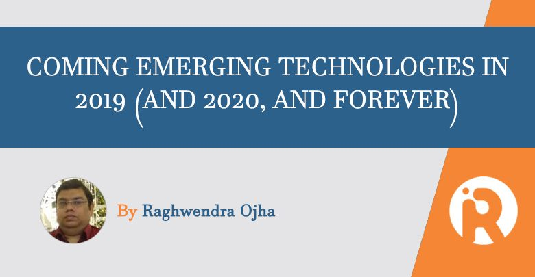 emerging technologies AI IoT 2019-2020
