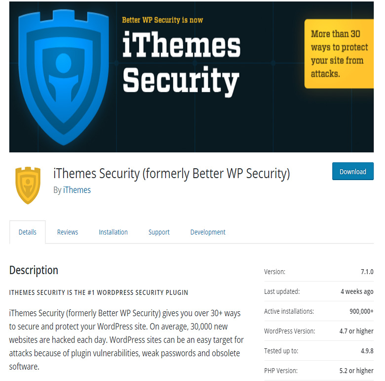 iThemes Security: