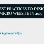 6 Best Practices to design micro website in 2019