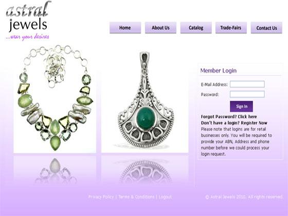 Astral Jewels oscommerce