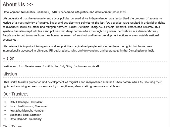 Development And Justice Initiative