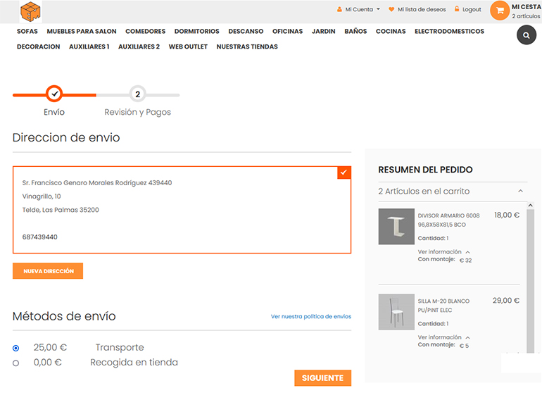 custom module magento 2 checkout page with shipping details