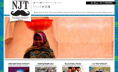 NJT INDIA - A JOOMLA 2.5 RESPONSIVE WEBSITE