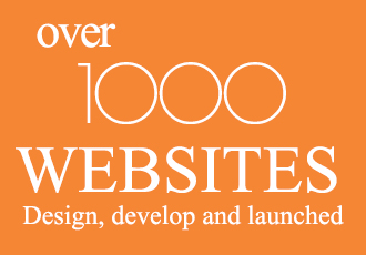 over 1000 websites design develop and launched