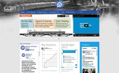 RAIL BUDGET 2015 - JOOMLA RESPONSIVE SITE