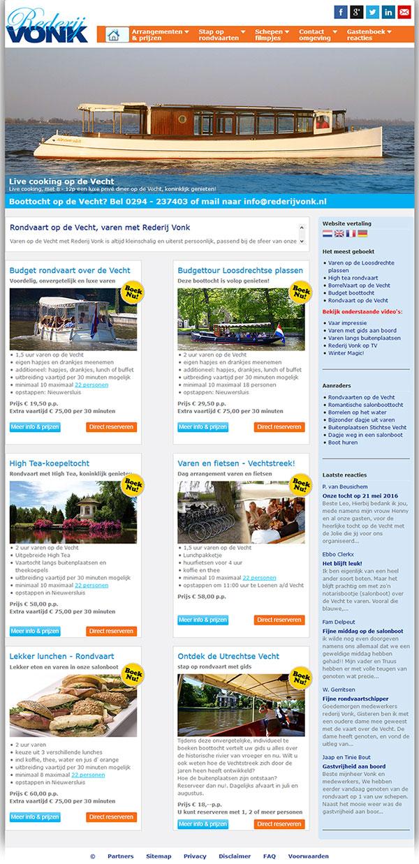 REDERIJ VONK - JOOMLA 3.1 RESPONSIVE WEBSITE