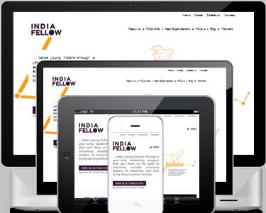 freelance web designer for responsive website