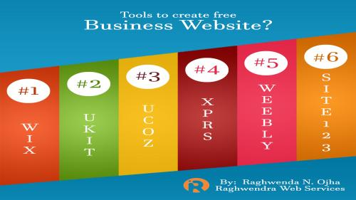 How to create a free website for business?